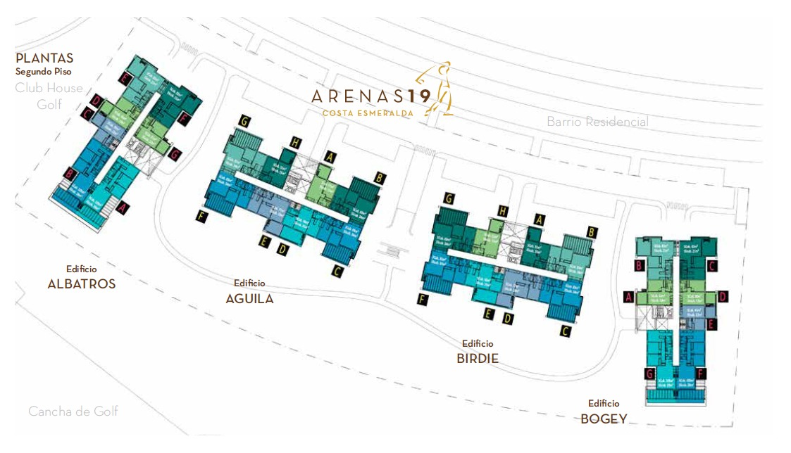 departamento arenas 19 costa esmeralda 2°e