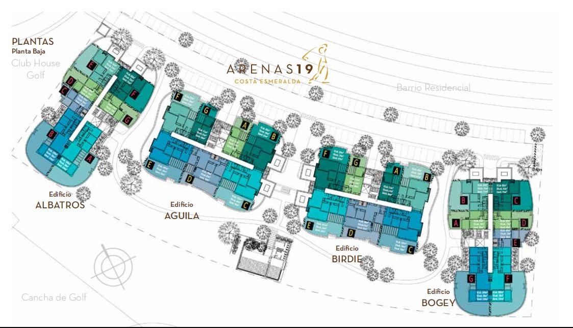 departamento arenas 19 costa esmeralda pb  a