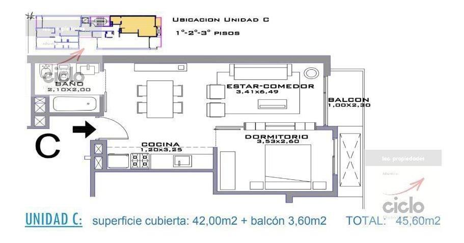departamento - barracas