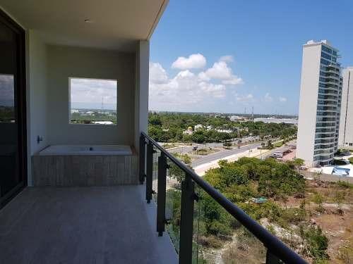 departamento be tower en venta piso 05 cancún