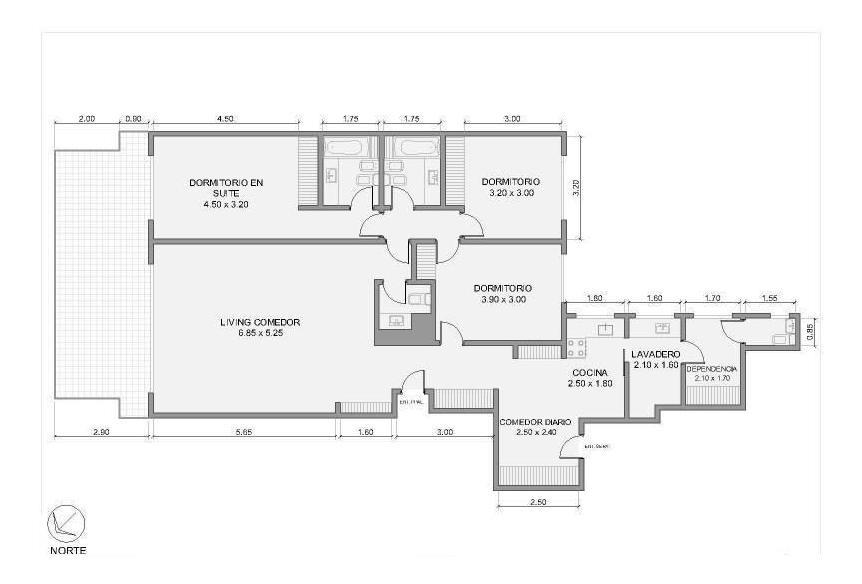 departamento - belgrano - cuatro ambientes con gran balcon terraza y cochera!