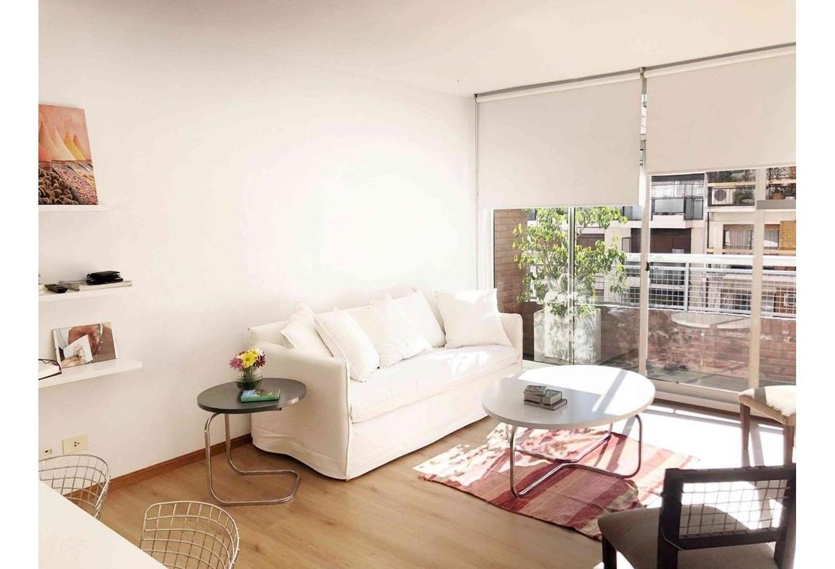 departamento - belgrano - dos ambientes con pileta y laundry