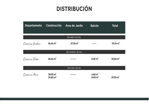 departamento carmina en venta, a min de plaza la isla,temozón,mérida,yucatán