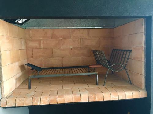 departamento centrico, 3 ambientes, 2 baños, parrilla, garag