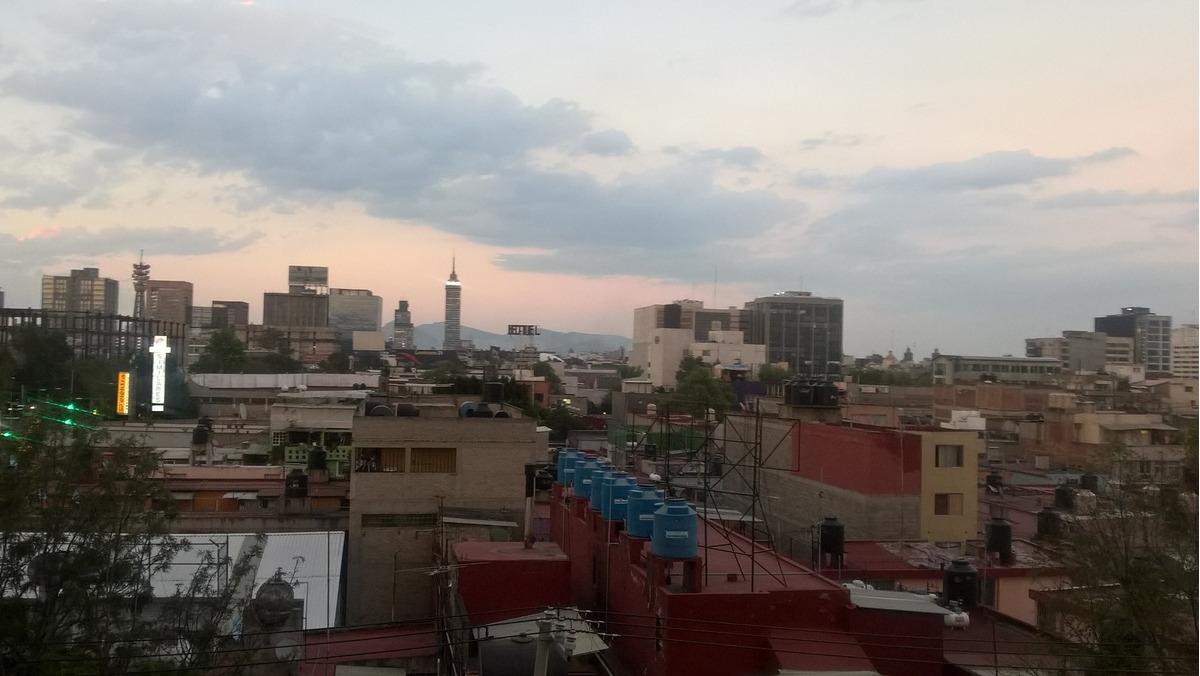 departamento céntrico balcón vista panorámica 2 recamaras