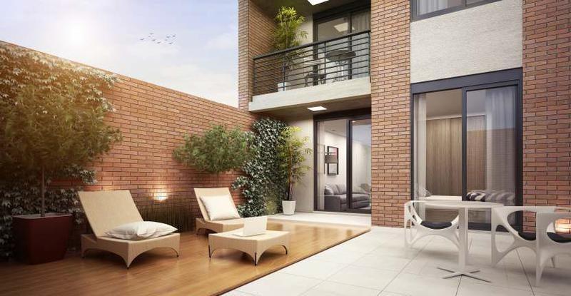departamento - centro - monoambiente con terraza exclusiva