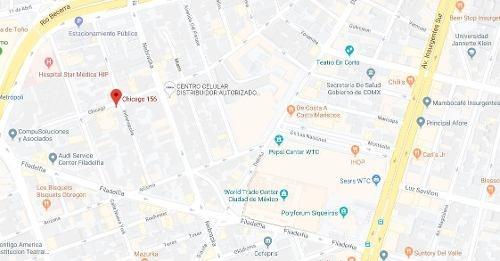 departamento chicago 156 nápoles benito juárez