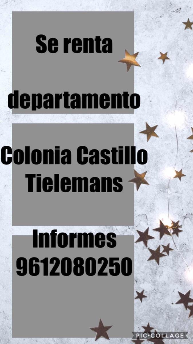 departamento colonia castillo tielmans