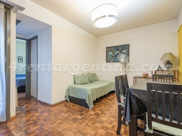 departamento con 1 dormitorio para 3 personas en belgrano