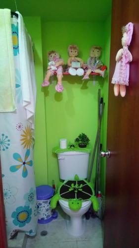 departamento con 2 cuartos 1 baño sala comedor cocina