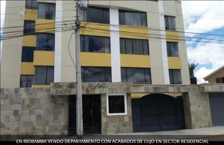 departamento con acabados de lujo en riobamba