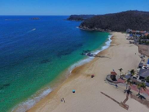 departamento con acceso a playa chahue huatulco