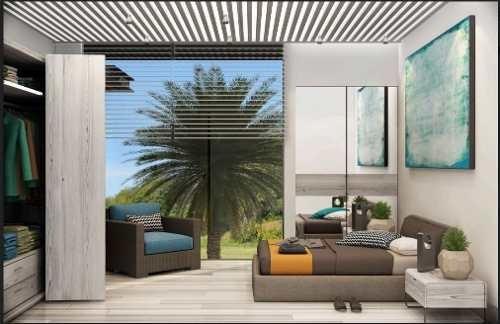 departamento con amplia terraza playa del carmen p2489