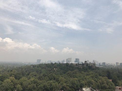 departamento con bella vista al bosque de chapultepec, condesa cuauhtémoc