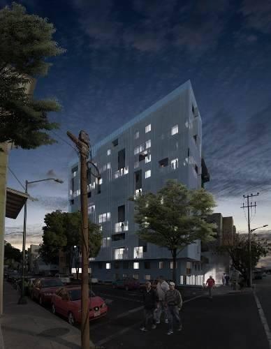 departamento con dos estacionamientos y balcon