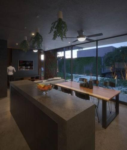 departamento con jardín con sistema inteligente