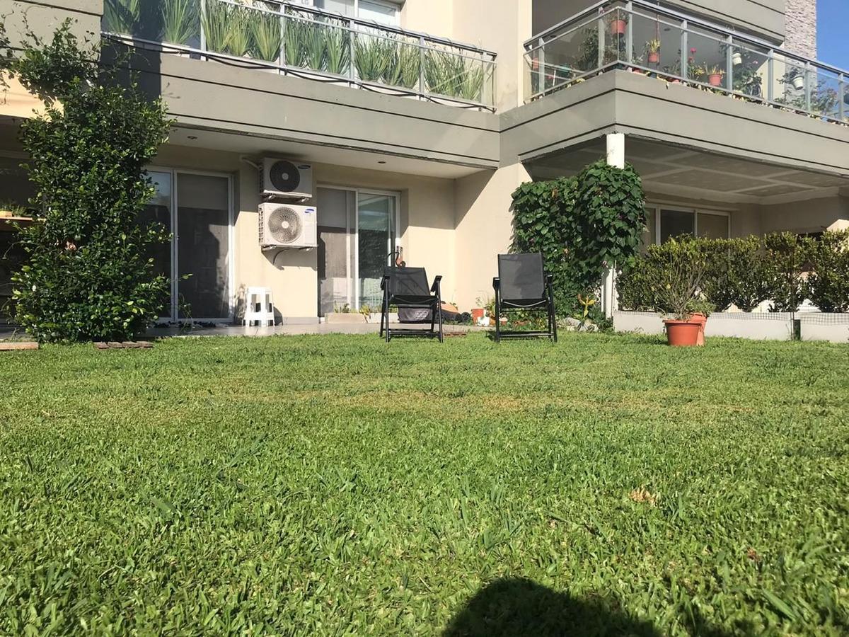 departamento con jardin en venta en ing. maschwitz