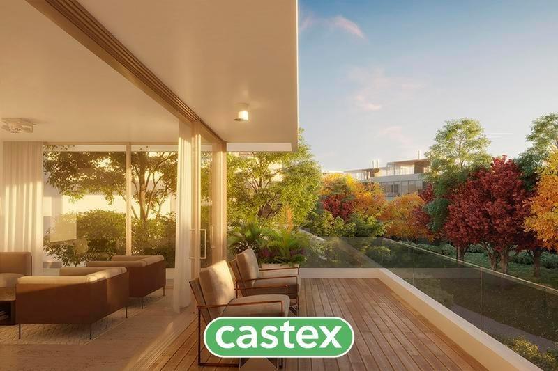 departamento con jardín en venta en nordelta