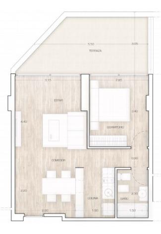 departamento con patio - condo refineria - amenities de excelencia