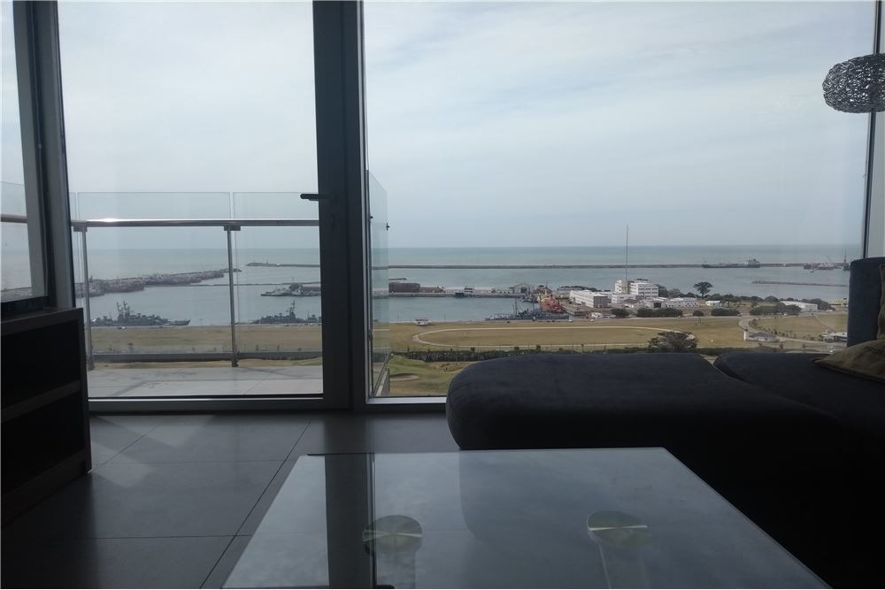 departamento con plena vista al mar,playa grande.