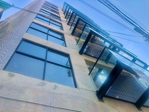 departamento con terraza en la roma sur
