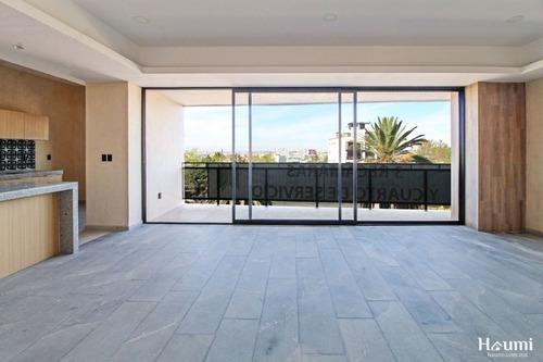departamento con terraza en venta en la paz