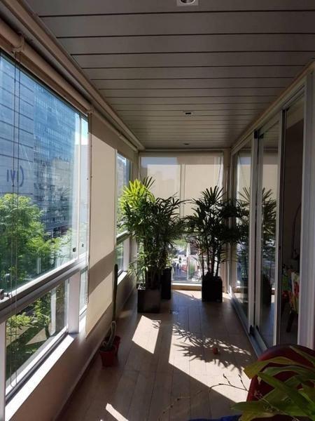 departamento con terraza y amenities