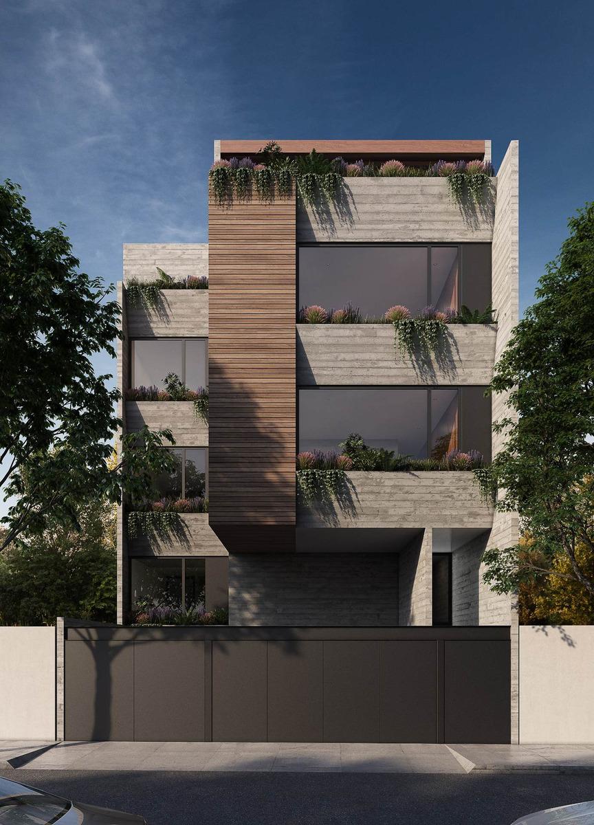 departamento con terraza y patio interior (2 recámaras)