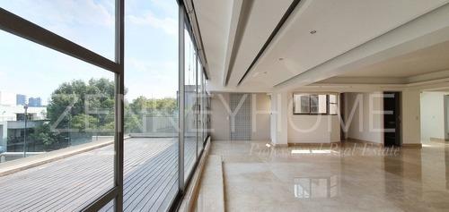 departamento con terrazas en polanco - penthouse
