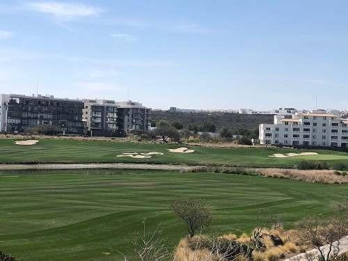 departamento con vista al golf zibata