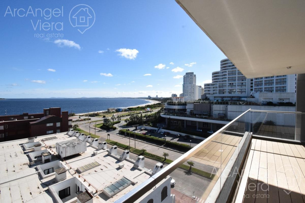 departamento con vista al mar en alquiler , punta del este, alexander collection