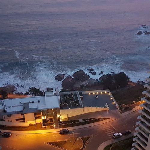 departamento con vista al mar en reñaca
