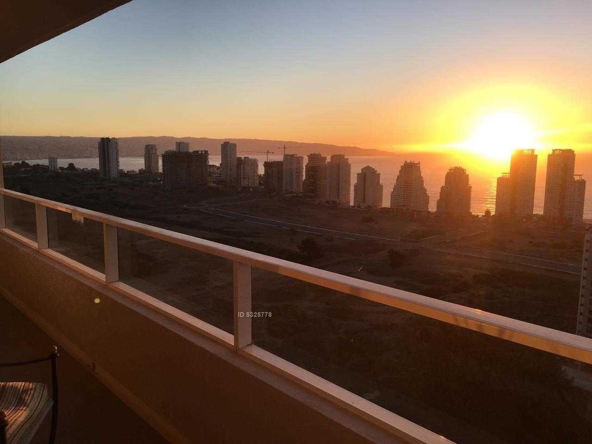 departamento con vista increíble al mar y valparaíso