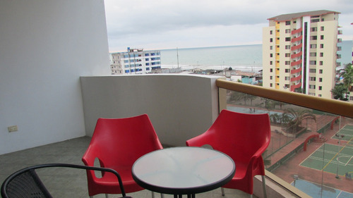 departamento-condominio frente al mar-playa almendro