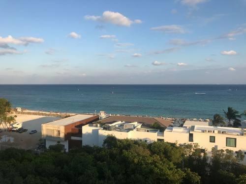 departamento cruz con mar en playa del carmen seminuevo