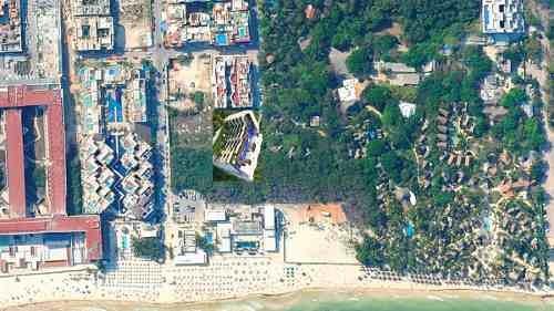 departamento cruz con mar playa del carmen calle mamitas