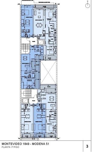 departamento de 1 ambiente en construcción con financiación