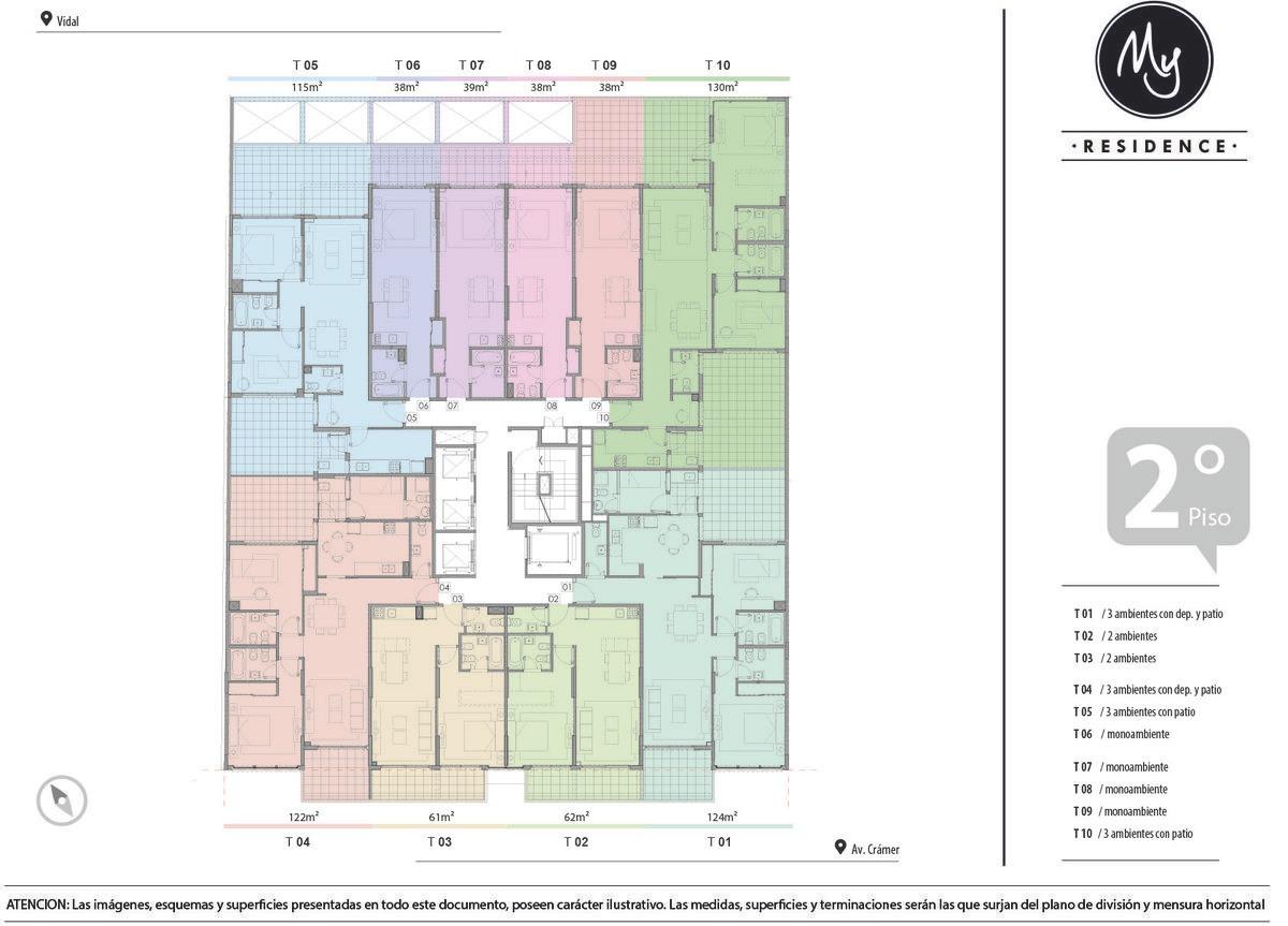 departamento de  1 ambiente en venta en belgrano