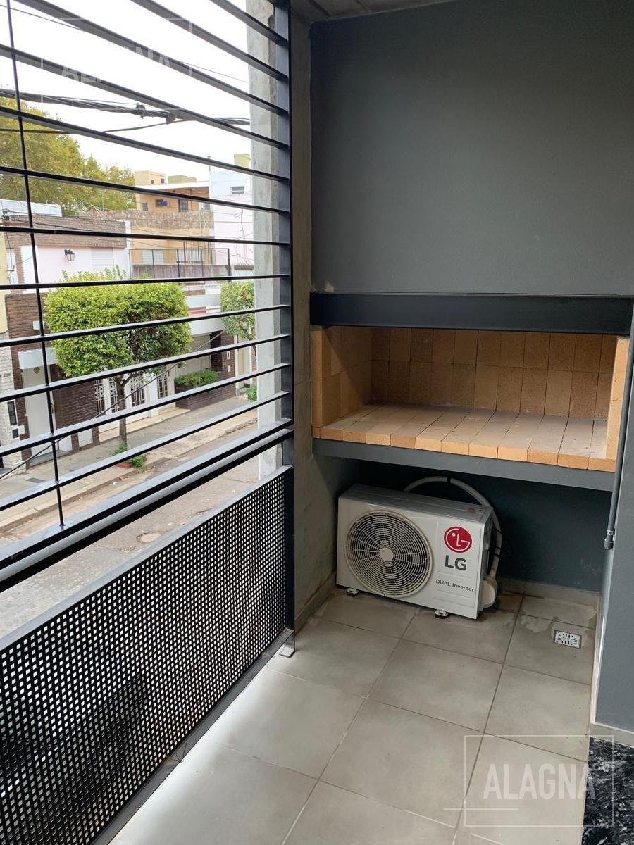 departamento de 1 dormitorio a estrenar con balcon c/parrilla - echesortu
