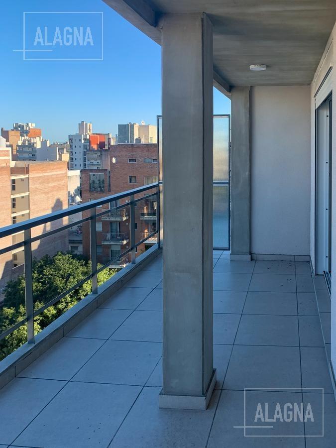 departamento de 1 dormitorio a estrenar con patio en el 9no piso en barrio martin