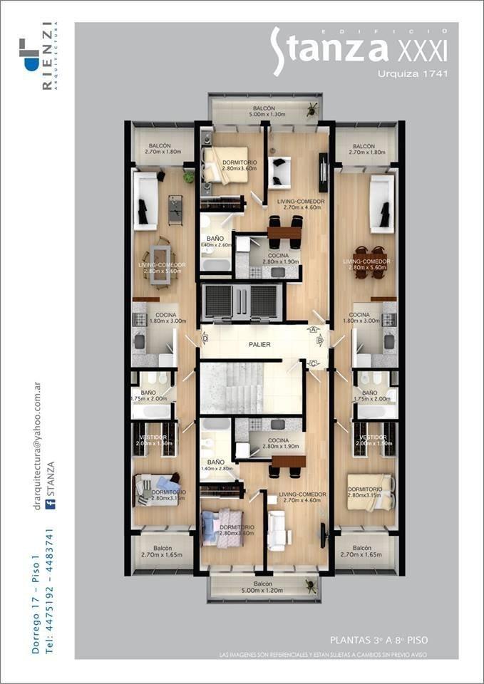 departamento de 1 dormitorio - centro - excelente calidad - financiacion