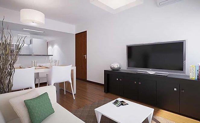 departamento de 1 dormitorio en barrio martin - posesion finales 2020 - muy buena calidad de construccion