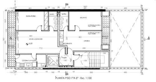 departamento de 1 dormitorio en construcción