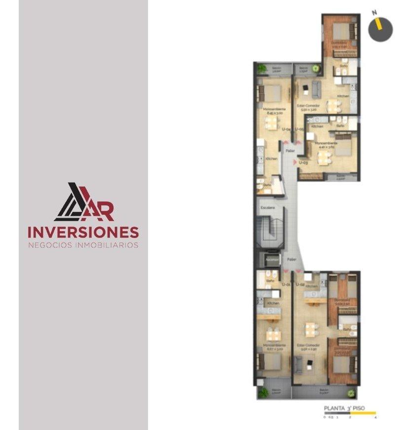 departamento de 1 dormitorio en venta!! ideal inversión! financiación!!