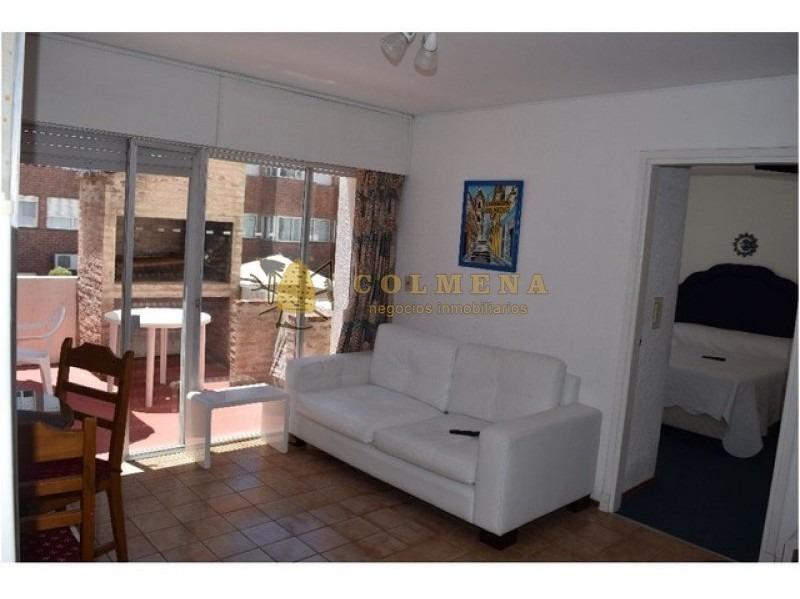 departamento de 1 dormitorio peninsula mas parrillero!!- ref: 1359