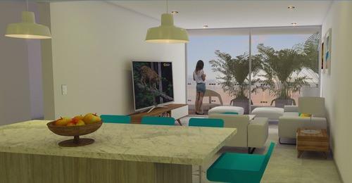 departamento de 1 habitación en el corazón de playa del carmen  p1852