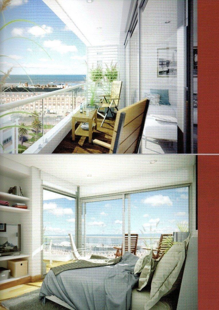 departamento de 2 ambientes a estrenar y con vista al mar