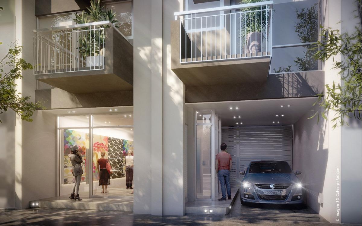 departamento de 2 ambientes con balcón. 40 % anticipo y 36 cuotas. edificio urban. zona la perla