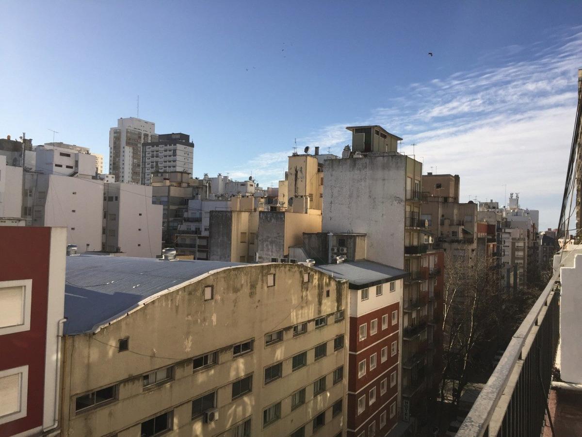 departamento de 2 ambientes con dependencia y balcon a la calle en alquiler temporada mar del plata