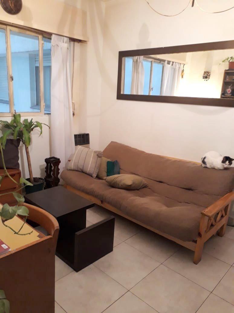 departamento de 2 ambientes contra frente impecable!! ideal renta, vivienda permanente o turístico